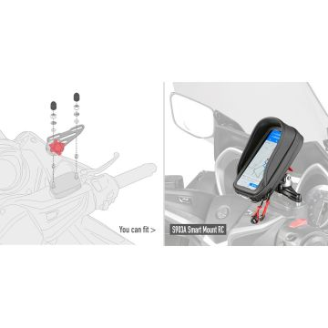 GIVI 02VKIT SPECIFIC KIT TO MOUNT THE SMART MOUNT RC S903A