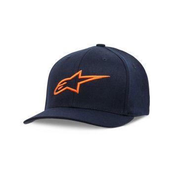 Alpinestars AGELESS CURVE HAT - Navy / Orange