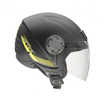 Givi 10.4 Demi-Jet Helmet - Black