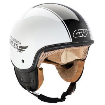 Givi 10.9F JET Helmet - Black/White
