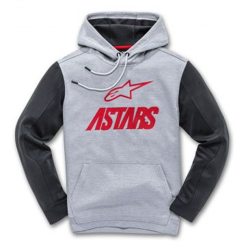 Alpinestars CONVERGE FLEECE - GREY/RED