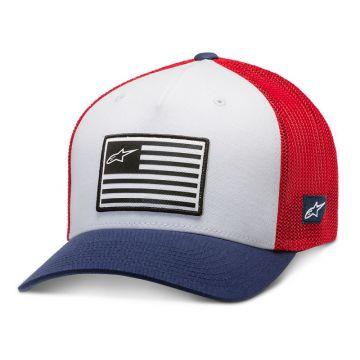 ALPINESTARS FLAG HAT - RED/BLUE