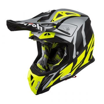 Airoh Aviator 2.3 Helmet - Great Yellow Matt