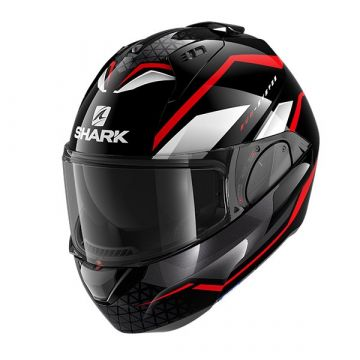 SHARK EVO ES Yari / Black red white/KRW