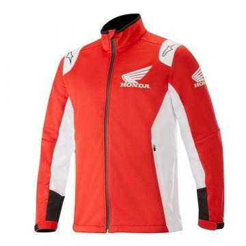 Alpinestars Honda Softshell Jacket - Red