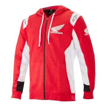 ALPINESTARS Honda Zip Hoodie - Red