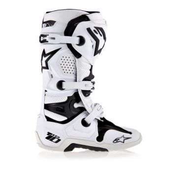 ALPINESTARS TECH 10 BOOTS - WHITE/BLACK