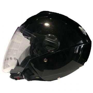 ZEUS ZS-202F-A Helmet - Metal Black