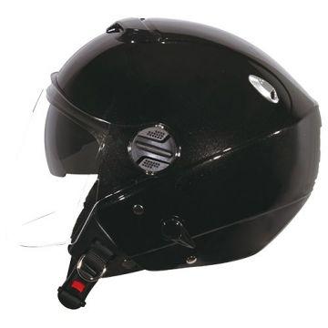 Zeus ZS-202FB Helmet - Black