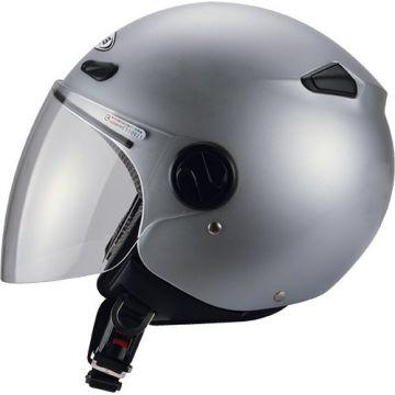 Zeus ZS-210B Helmet - Silver