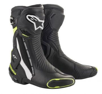 Alpinestars SMX Plus Boots V02 -Black/Yellow