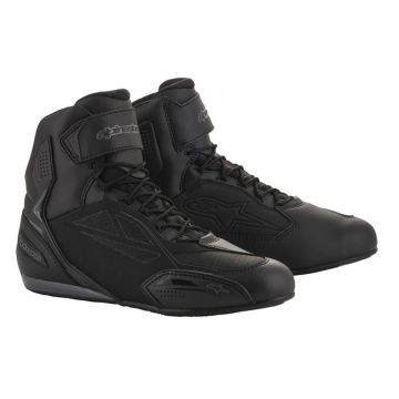 Alpinestars Faster 3 Shoes - Drystar - Black Cool Grey