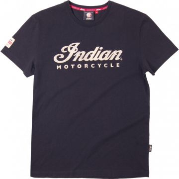 Indian Motorcycle - Tee Ecru Logo