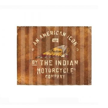 Indian American Icon Corrugated Sign