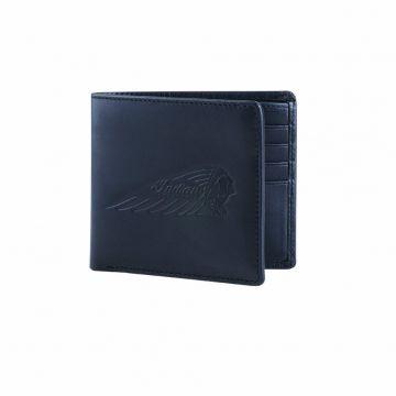 Indian Motorcycle Bi-fold Wallet - Black