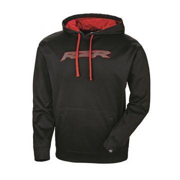 Polaris Men's Vapor Hoodie - Black/Red