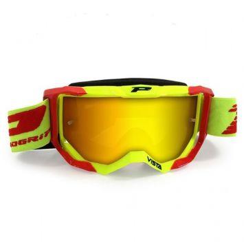 Progrip Vista 3303 Goggles - Yellow / Red