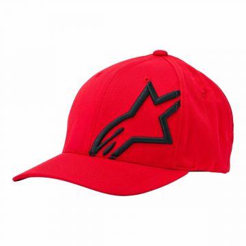CORP SHIFT 2 FLEXFIT HAT - RED/BLACK