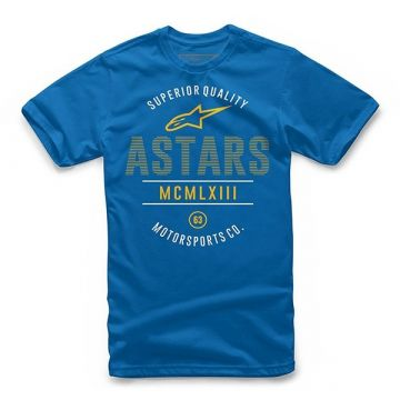 Alpinestars - KID'S CIVIL TEE - Kids - Royal Blue