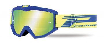 Progrip 3201/FL Atzaki Motocross Goggles Blue with Multilayered Lens