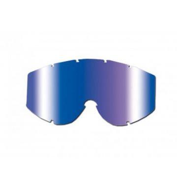 Blue Multi-Layered Mirrored Lens