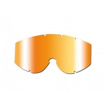 Orange Multi-Layered Mirrored Lens