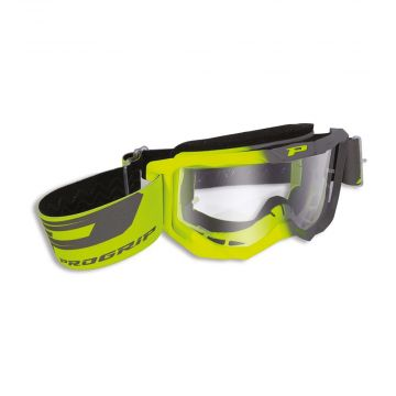 Progrip PG3300 Goggles - Yellow Fluo / Grey