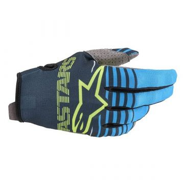 ALPINESTARS RADAR GLOVE - NAVY/AQUA