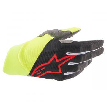 Alpinestars Dune Gloves - Black / Yellow / Red