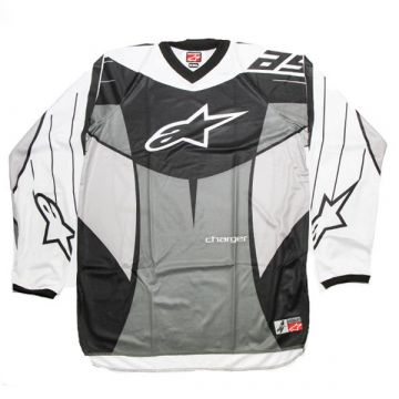 Alpinestars Charger Jersey Black-Grey  Size XXL