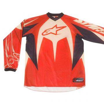 Alpinestars Racer Jersey Black/Red Size XXL