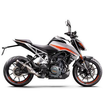 KTM 390 Duke 2021 - White