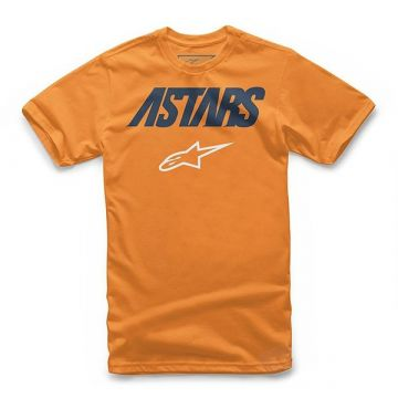 Alpinestars - JUVY ANGLE COMBO TEE - Kids - Orange