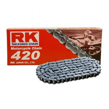 "RK Standard Drive Chain  ""420"" x 126 Link"