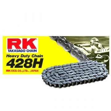 "RK Standard Drive Chain  ""428"" x 136 Link"