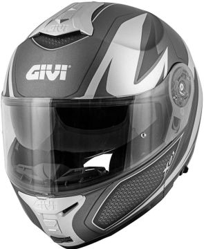 Givi X.21 Challenger Man Helmet - Matt, Silver, Titanioum