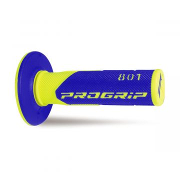 ProGrip 801 Grips - Yellow Fluo / Blue