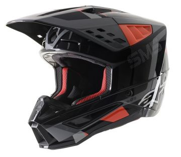Alpinestars SM5 ROVER HELMET -Black/Red