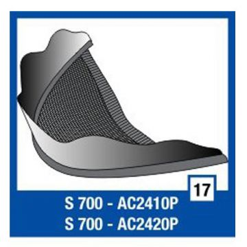 Shark Chin Cover for V6,S700, S900