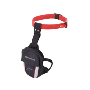 Alpinestars Access Thigh Bag - Black / Red / White