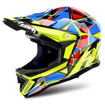 Airoh Archer Helmet-Yellow/Black