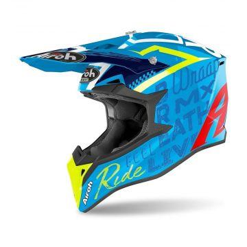 Airoh Wraap Azure Gloss Street Helmet