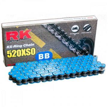 "RK Heavy Duty X-Ring Chain Blue ""520"" x 120 Link"