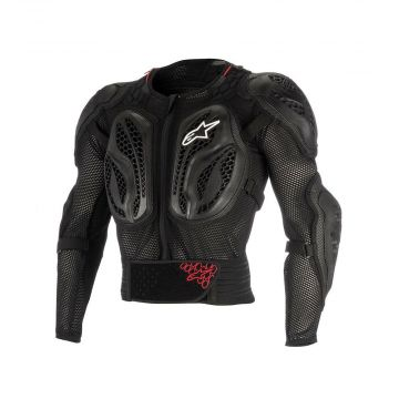 Alpinestars Youth Bionic Action Jacket - Black/Red