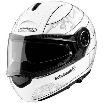 SCHUBERTH C3 Helmet - World Glossy White