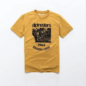 Alpinestars CREW PREMIUM TEE - Yellow