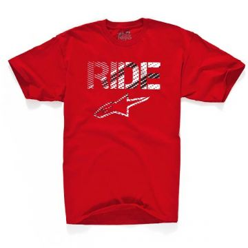 Alpinestars  Crosshatch  T-shirt-Red-S