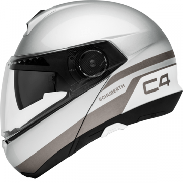 Schuberth C4 Helmet - Pulse Silver