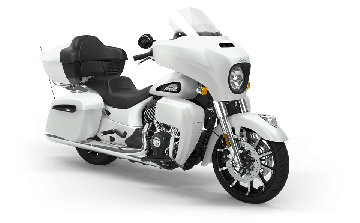 Indian® Roadmaster® Dark Horse - White Smoke