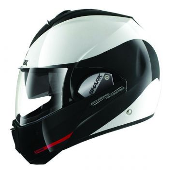 Shark Evoline Series 3 Helmet-Hakka - Black/White